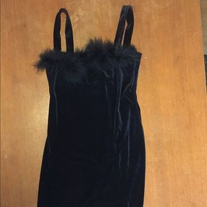 Pandora Black Body Con Dress L